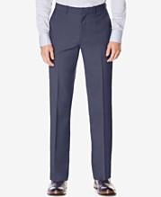 aa765cec8 Perry Ellis Portfolio Big and Tall Classic-Fit No Iron Nailhead Men's Dress  Pants