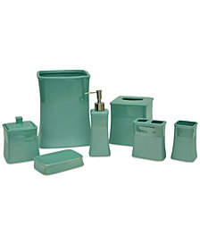 Jessica Simpson Kensley Aqua Bath Accessories, Created for Macy's