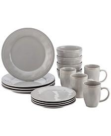 Cucina Sea Salt Grey 16-Pc. Set, Service for 4