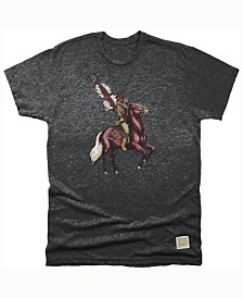 Retro Brand Men's Florida State Seminoles Mock Twist Team Logo T-Shirt