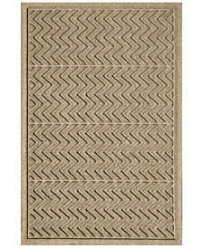 Bungalow Flooring Water Guard Chevron 3'x5' Doormat
