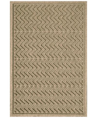 Bungalow Flooring Water Guard Chevron 3 X5 Doormat Rugs