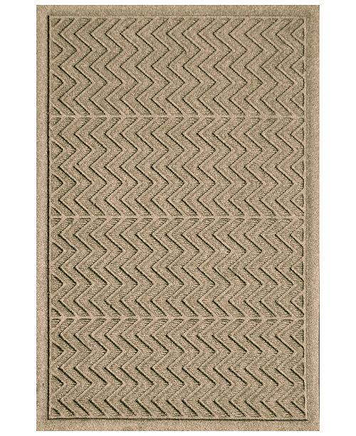 Bungalow Flooring Water Guard Chevron 3'x5' Doormat