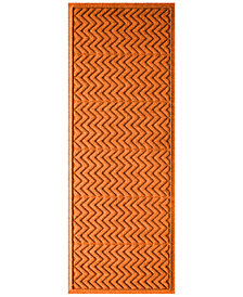 "Bungalow Flooring Water Guard Chevron 22""x60"" Doormat"