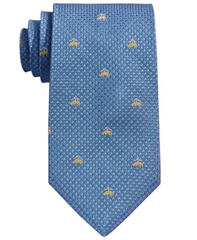 Brooks Brothers Men's Neat Logo Tie