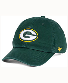 '47 Brand Kids' Green Bay Packers CLEAN UP Cap