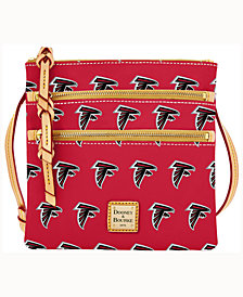 Dooney & Bourke Atlanta Falcons Triple-Zip Crossbody Bag