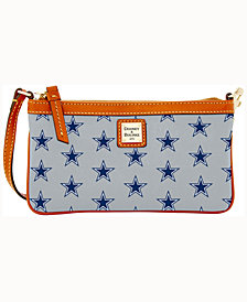 Dooney & Bourke Dallas Cowboys Large Slim Wristlet