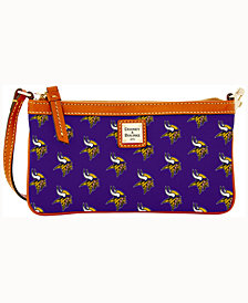 Dooney & Bourke Minnesota Vikings Large Slim Wristlet