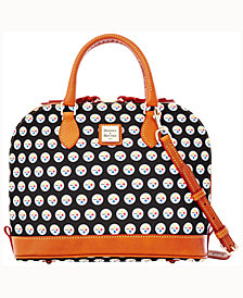 Dooney & Bourke Pittsburgh Steelers Zip Zip Satchel