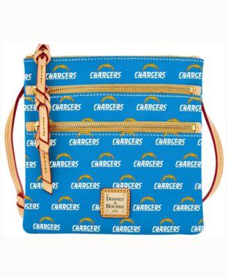 Los Angeles Chargers Triple-Zip Crossbody Bag