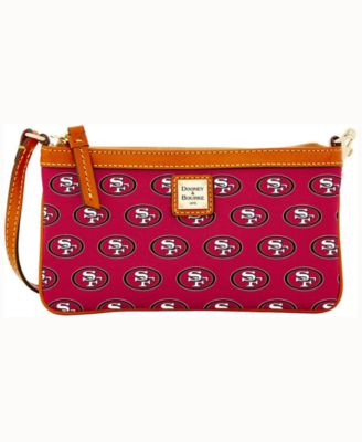 San Francisco 49ers Large Slim Wristlet