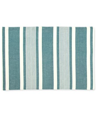 Mara Colorwave Turquoise Collection 4-Pc. Placemat Set