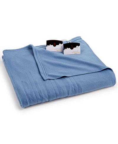 Biddeford Comfort Knit Fleece Heated Twin Blanket