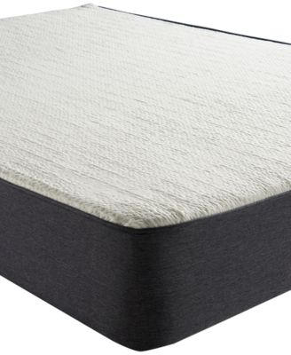 """Sleep Trends Ladan 10.5"""" Cool Gel Memory Foam Cushion Firm Pillow Top Mattress, Quick Ship, Mattress in a Box- Twin"""