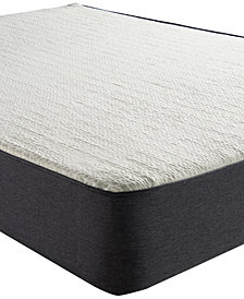 "Sleep Trends Ladan 10.5"" Cool Gel Memory Foam Cushion Firm Pillow Top Mattress, Quick Ship, Mattress in a Box- Queen"