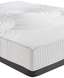 "Sleep Trends Orvil 11"" Classic Gel Memory Foam Cushion Firm Tight Top Mattresses, Direct Ship"