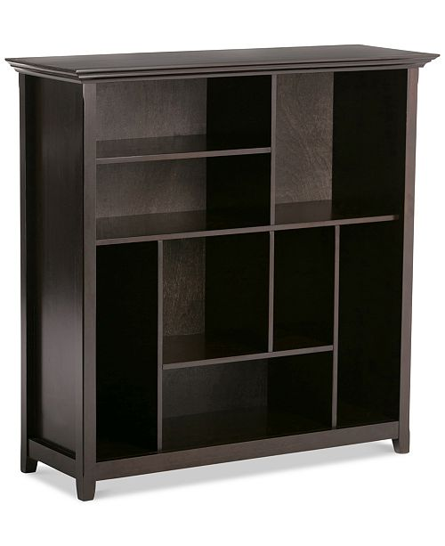 Simpli Home  Canton Multi Cube Storage Bookcase, Quick Ship