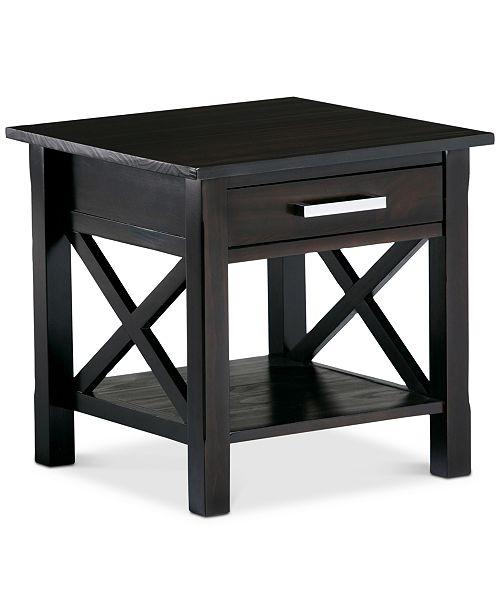 Simpli Home Rockville End Table
