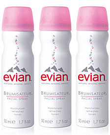 evian® Mineral Water Facial Spray Trio