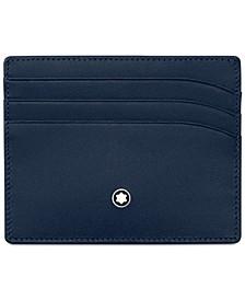 Meisterstück Navy Leather 6-Pocket Holder 114557