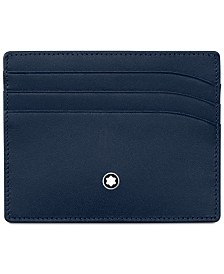 Montblanc Meisterstück Navy Leather 6-Pocket Holder 114557