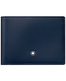Montblanc Meisterstück Navy Leather Wallet 114542