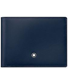 Montblanc Meisterstück Navy Leather Wallet 114542