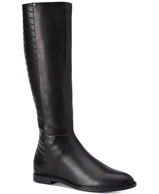 Calvin Klein Donnily Riding Boots - Boots - Shoes - Macy's
