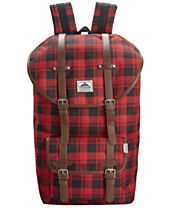 Steve Madden Buffalo Plaid Utility Backpack