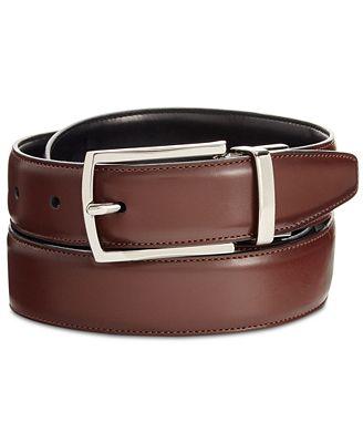 Ryan Seacrest Distinction Men's Reversible Belt, Only at Macy's