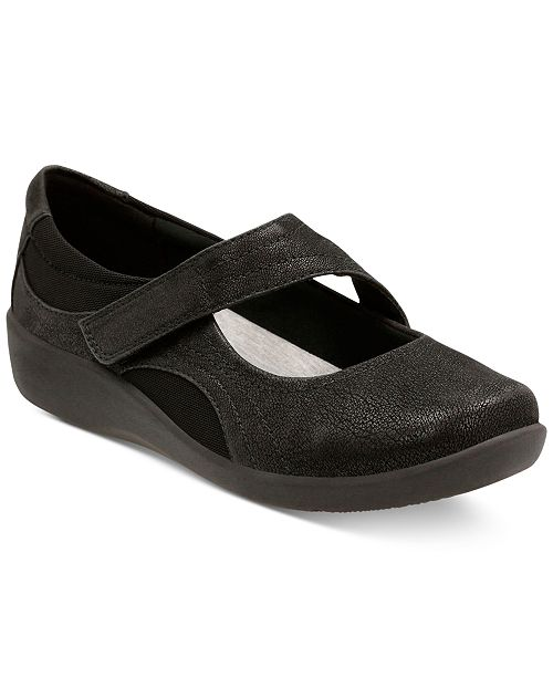 cda6e4692462d ... Jane Flats  Clarks Collection Women s Cloudsteppers trade  Sillian  Bella Mary ...