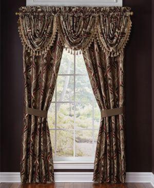 "Croscill Bradney 48"" x 33"" Window Valance Bedding 2898744"
