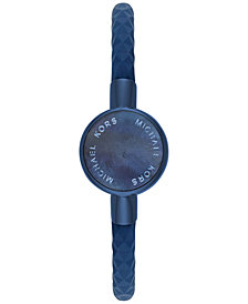Michael Kors Access Women's Crosby Navy Silicone Slider Bracelet Activity Tracker 24mm MKA101002