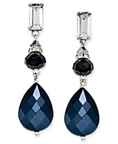 INC International Concepts Silver-Tone Triple-Drop Earrings, Created for Macy's