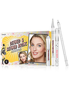 Benefit Cosmetics 4-Pc. Defined & Refined Brow Set
