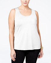 fd02135e189 Tank Tops Plus Size Tops - Macy s