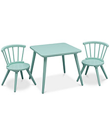 Rowlee Table & 2 Chair Set, Quick Ship