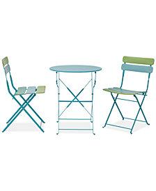 Calley 3-Pc. Outdoor Table Set, Quick Ship