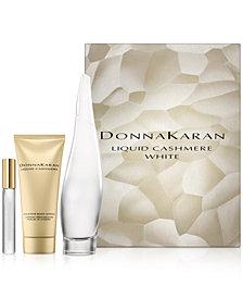 Donna Karan 3-Pc. Liquid Cashmere White Sexy Cashmere Gift Set