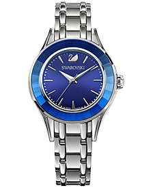 Swarovski Women's Swiss Alegria Stainless Steel Bracelet Watch 33mm 5194491