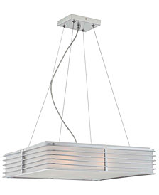 Lite Source Silver Pendant Lamp