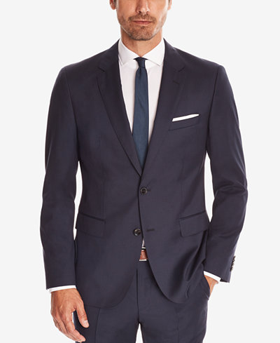BOSS Men's Regular/Classic-Fit Super 120 Italian Virgin Wool Sport Coat