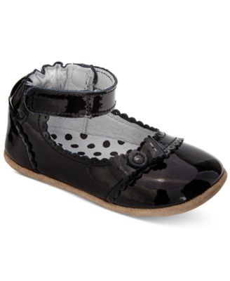Baby 100/% Leather Mary Janes shoes baby girls