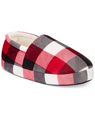 Family Pajamas Boys' or Girls' Buffalo Plaid Slippers, Only at