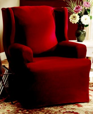 Duck Wing Chair Slipcover