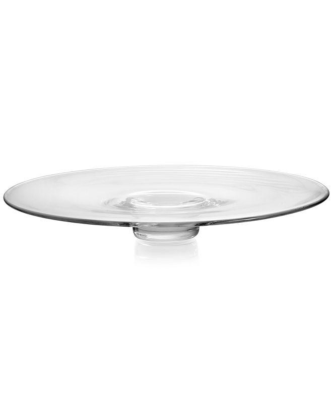 "Nambe Moderne 15"" Round Platter"