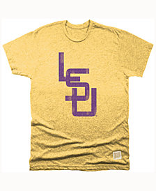 Retro Brand Men's LSU Tigers Mock Twist T-Shirt