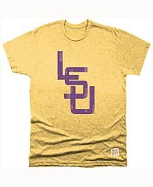 Retro Brand Men's LSU Tigers Mock Twist T-Shirt