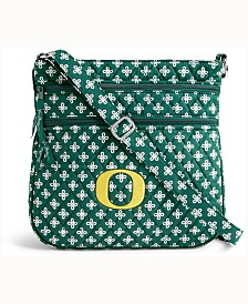 Vera Bradley Oregon Ducks Triple Zip Hipster